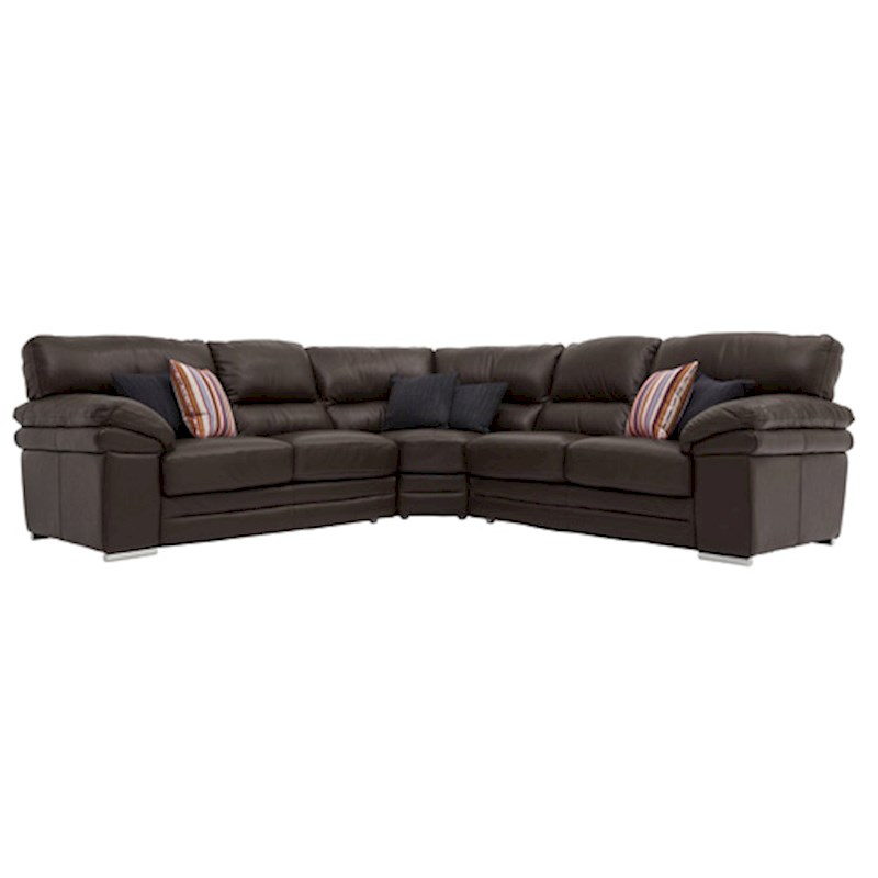 Corner Sofas in Leather and Fabric Styles - Sterling Furniture