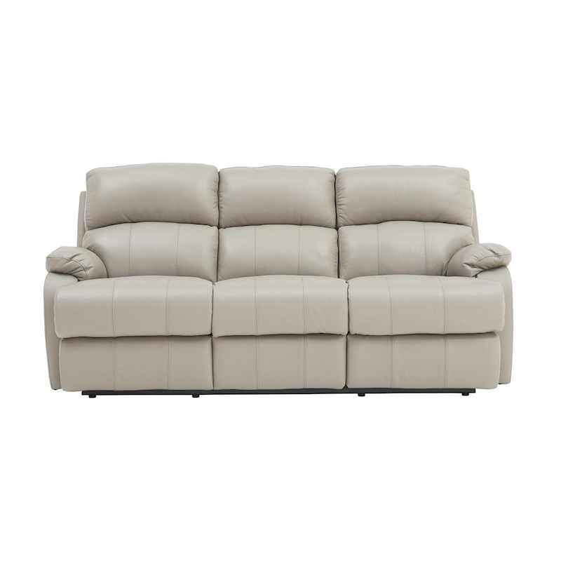 Leather Dye For Sofas Uk: Carlo Leather 3 Seater Recliner Sofa