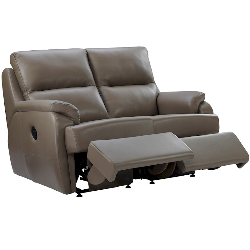 Leather Dye For Sofas Uk: G Plan Hartford Leather 2 Seater Recliner Sofa