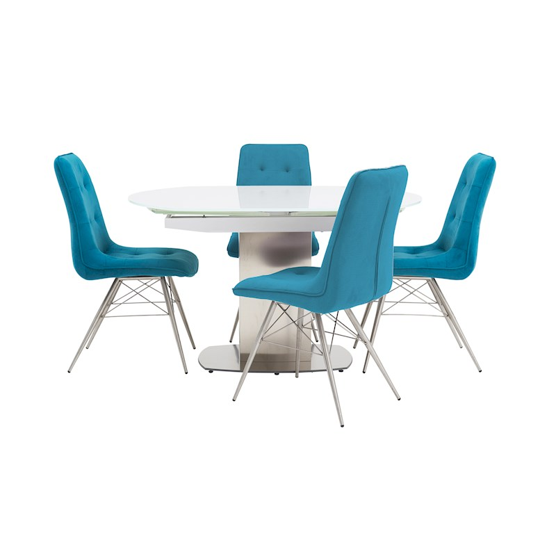 Jamila Extending Dining Table   Nahla Dining Chairs. Dining Room Furniture and Dining Sets   Sterling Furniture