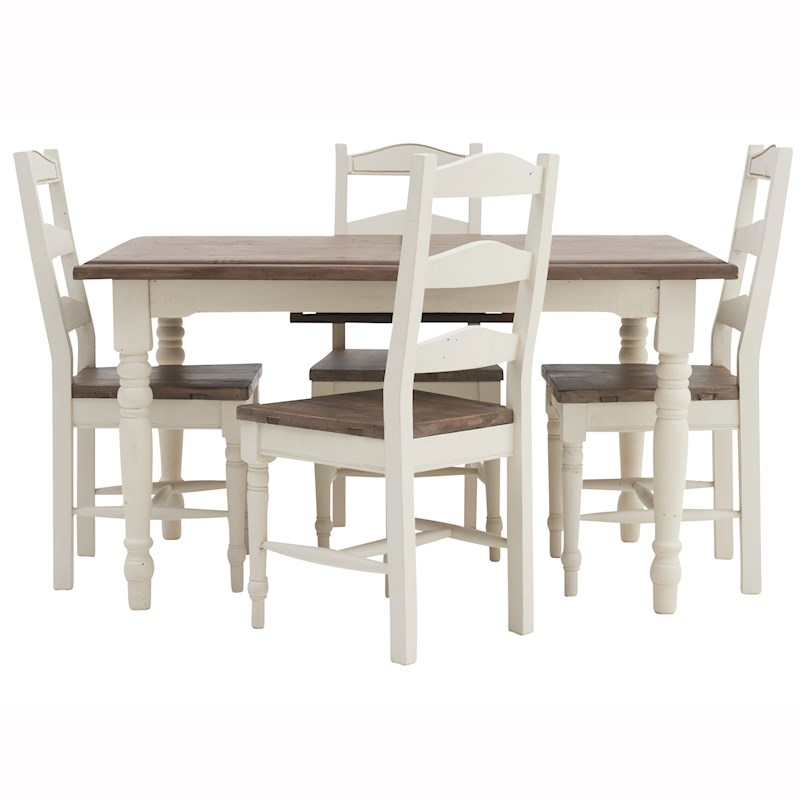 Rockport Extending Dining Table   4 Turned Leg Chairs. Dining Room Furniture and Dining Sets   Sterling Furniture