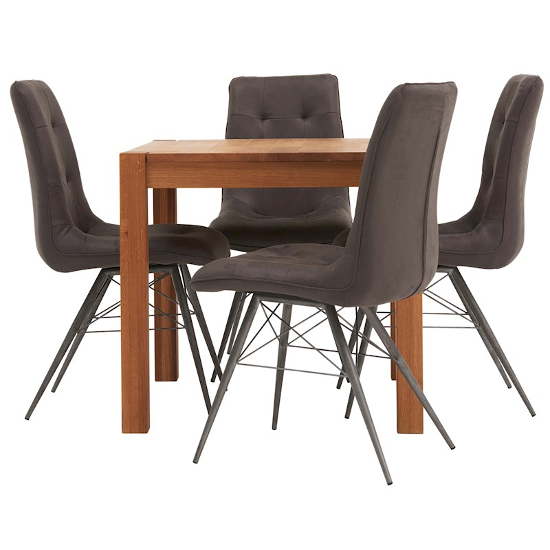 royal oak dining table 4 chairs image