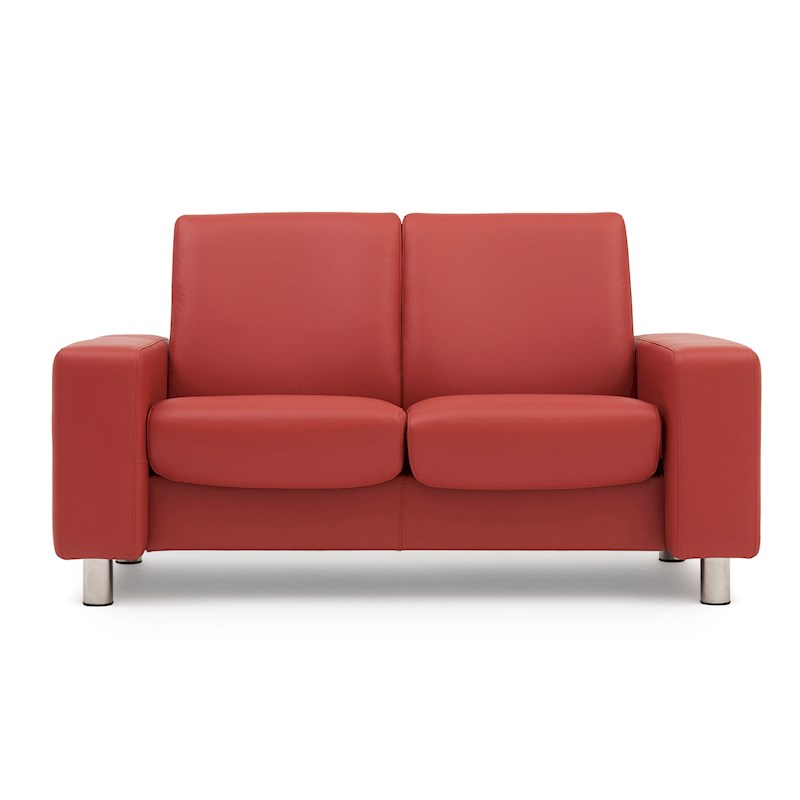 Leather Dye For Sofas Uk: Stressless Pause Low Back 2 Seater Sofa